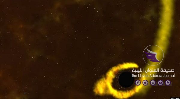 ناسا ترصد ثقبا أسود يلتهم نجما