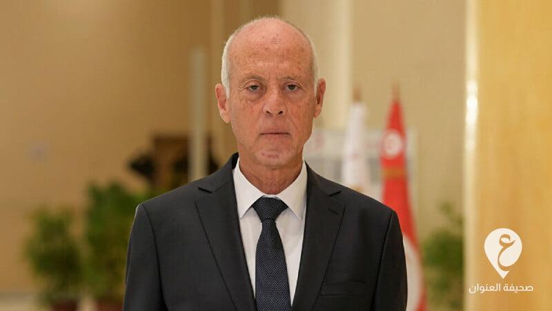 الرئيس التونسي، قيس سعيد