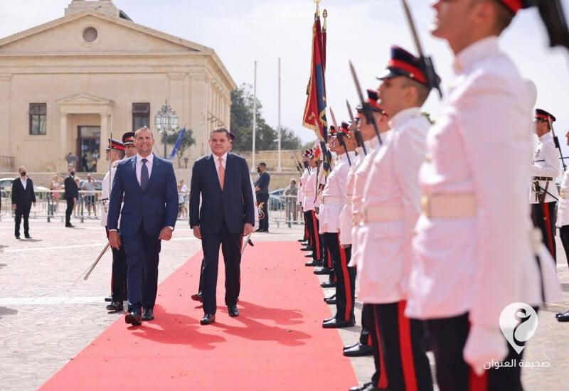 ليبيا- رئيس الحكومة يزور مالطا