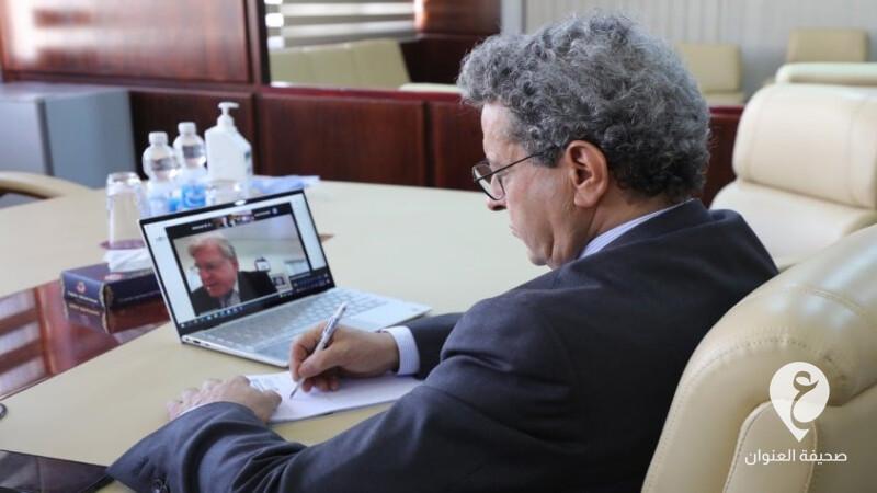 ليبيا-وزير النفط والغاز محمد عون