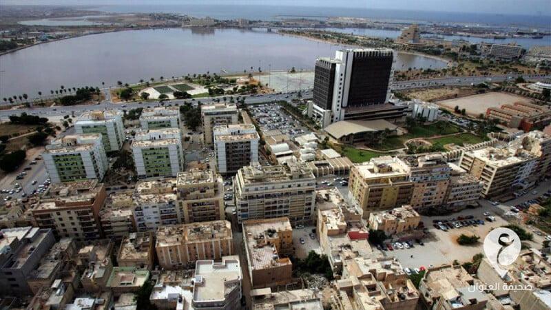 لقطة جوية لمدينة بنغازي