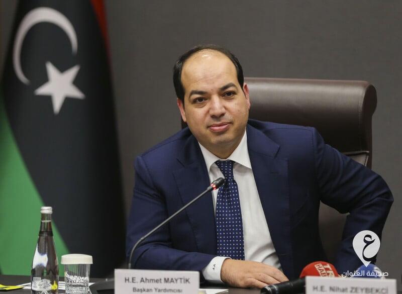 ليبيا- نائب رئيس المجلس الرئاسي لحكومة الوفاق الأسبق أحمد معيتيق