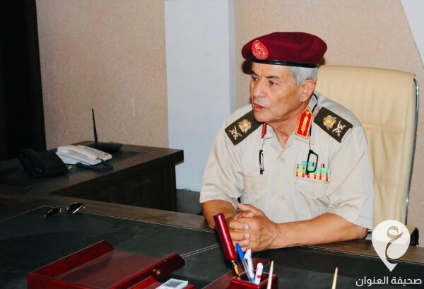 ليبيا- اللواء صالح عبدالله مدير إدارة التدريب بالقوات المسلحة